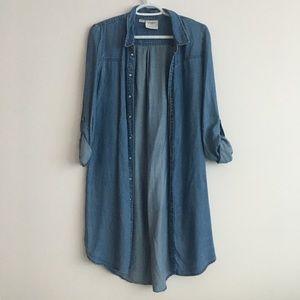 Jean jacket / dress